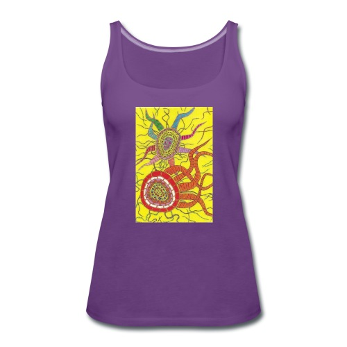 A Soul Jah Design - Women's Premium Tank Top