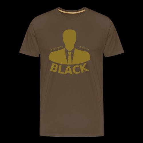 good guys ... the big rebel shirtl - Männer Premium T-Shirt