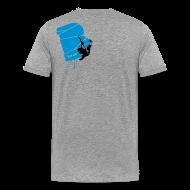 T-Shirts ~ Männer Premium T-Shirt ~ el poussah black-blue