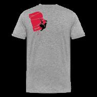 T-Shirts ~ Männer Premium T-Shirt ~ el poussah black-red