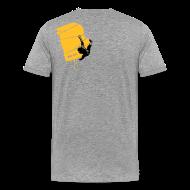 T-Shirts ~ Männer Premium T-Shirt ~ el poussah black-sunny yellow