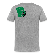 T-Shirts ~ Männer Premium T-Shirt ~ el poussah black-green