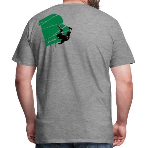 el poussah black-green - Männer Premium T-Shirt
