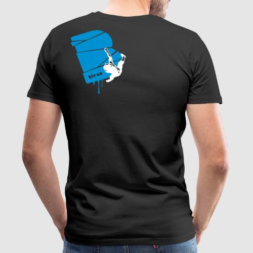 el poussah white-blue - Männer Premium T-Shirt