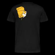 T-Shirts ~ Männer Premium T-Shirt ~ el poussah white-sunny yellow