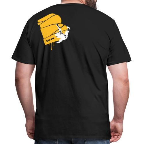 el poussah white-sunny yellow - Männer Premium T-Shirt