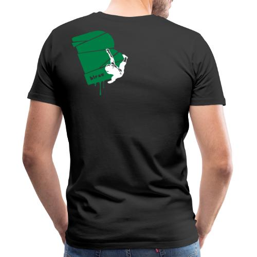 el poussah white-green - Männer Premium T-Shirt