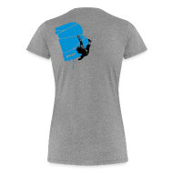 T-Shirts ~ Frauen Premium T-Shirt ~ el poussah black-blue