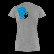 T-Shirts ~ Frauen Premium T-Shirt ~ el poussah black-blue
