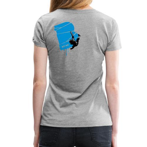 el poussah black-blue - Frauen Premium T-Shirt