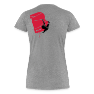T-Shirts ~ Frauen Premium T-Shirt ~ el poussah black-red