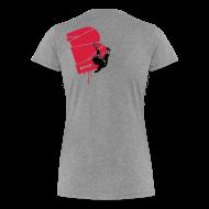 T-Shirts ~ Frauen Premium T-Shirt ~ el poussah black-red