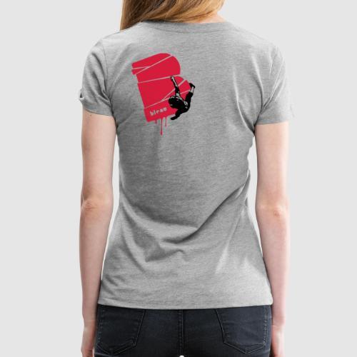 el poussah black-red - Frauen Premium T-Shirt