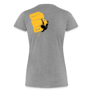 T-Shirts ~ Frauen Premium T-Shirt ~ el poussah black-sunny yellow