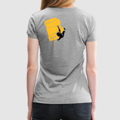 el poussah black-sunny yellow - Frauen Premium T-Shirt
