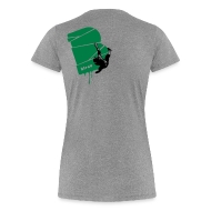 T-Shirts ~ Frauen Premium T-Shirt ~ el poussah black-green