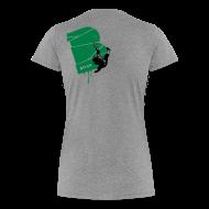 T-Shirts ~ Frauen Premium T-Shirt ~ el poussah black-green
