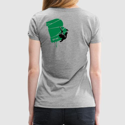 el poussah black-green - Frauen Premium T-Shirt