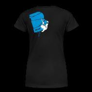 T-Shirts ~ Frauen Premium T-Shirt ~ el poussah white-blue