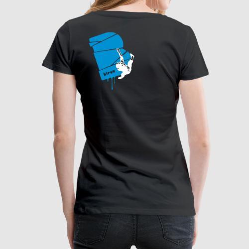 el poussah white-blue - Frauen Premium T-Shirt