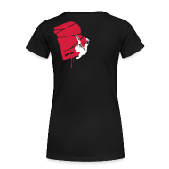 T-Shirts ~ Frauen Premium T-Shirt ~ el poussah white-red