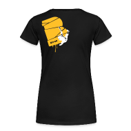 T-Shirts ~ Frauen Premium T-Shirt ~ el poussah white-sunny yellow