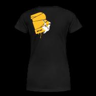 T-Shirts ~ Frauen Premium T-Shirt ~ el poussah white-sunny yellow