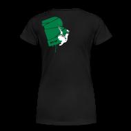 T-Shirts ~ Frauen Premium T-Shirt ~ el poussah white-green