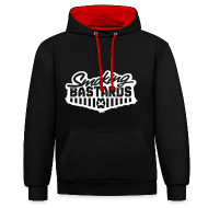 Pullover & Hoodies ~ Kontrast-Kapuzenpullover ~ Smoking Hoodie