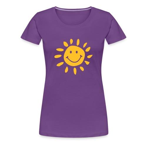 Sun & Smile - T-shirt Premium Femme