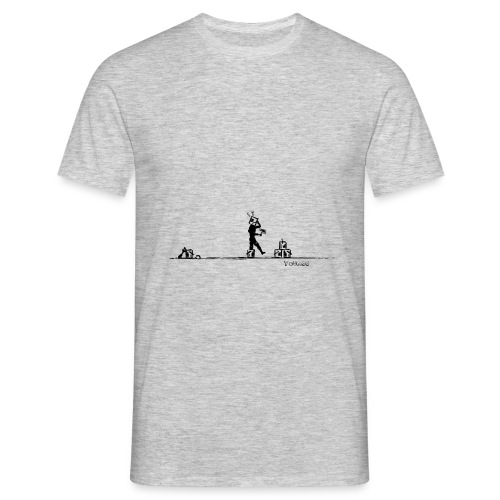 Clown pot sur la tête - Tag - Men's T-Shirt