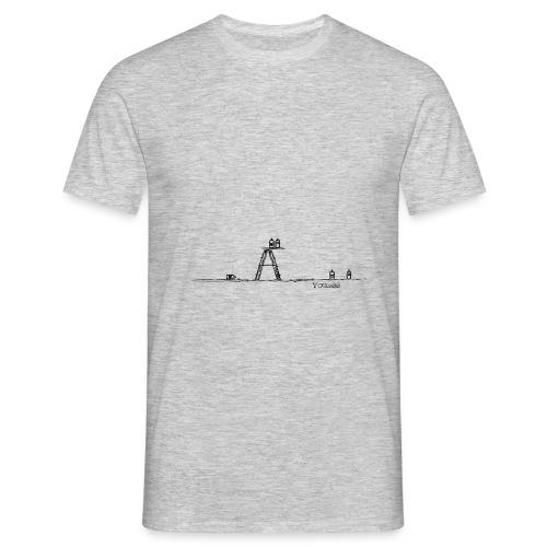 Escabeau et Spray - Tag - Men's T-Shirt