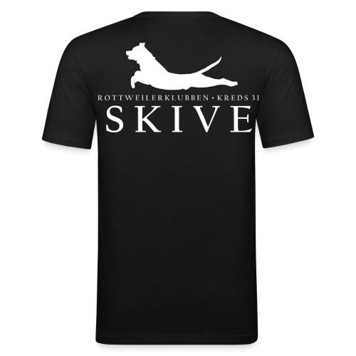Herre T-shirt - Herre Slim Fit T-Shirt