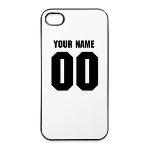 Name and Number Phone Case - iPhone 4/4s hard case
