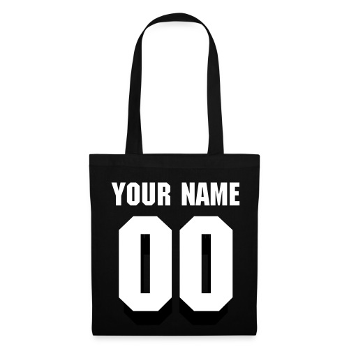 Name and Number Handbag  - Tas van stof