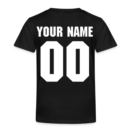 Name and Number T-Shirt - Kinderen Premium T-shirt