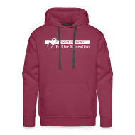 Hoodies & Sweatshirts ~ Men's Premium Hoodie ~ Good for Health [M][HOOD-W]