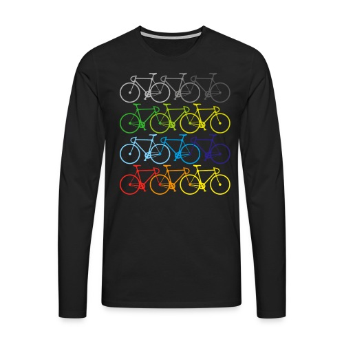 Fahrrad - Männer Premium Langarmshirt