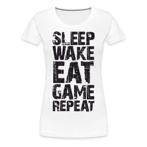 Routine - Naisten premium t-paita