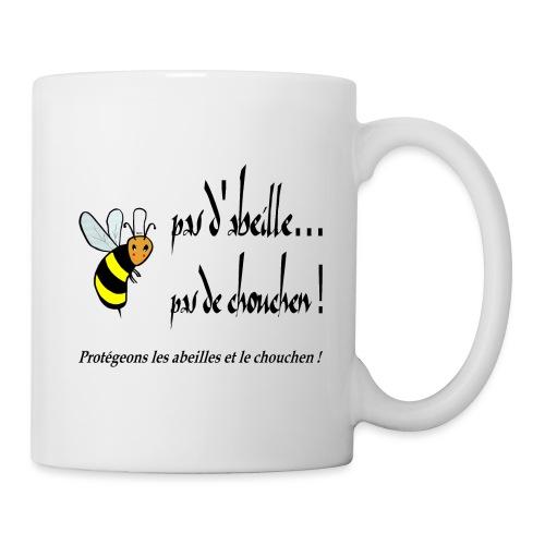 Pas d'abeille Pas de chouchen - Mug blanc