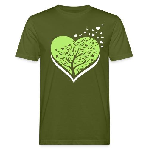 i love natura - T-shirt ecologica da uomo