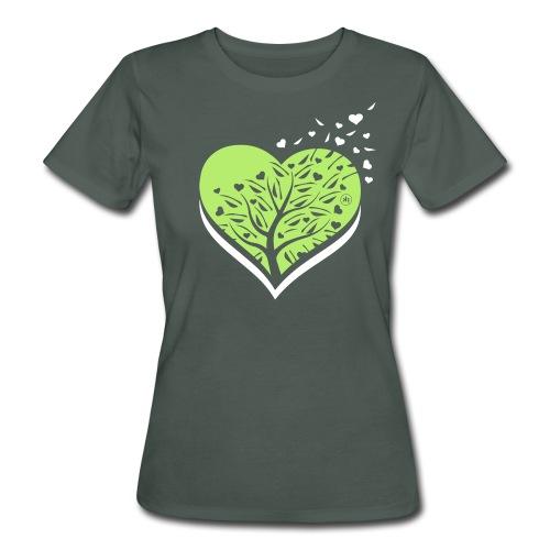 i love natura - T-shirt ecologica da donna
