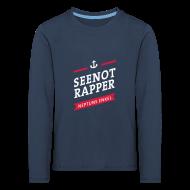 Langarmshirts ~ Kinder Premium Langarmshirt ~ Langarm-Shirt Seenotrapper, Kids