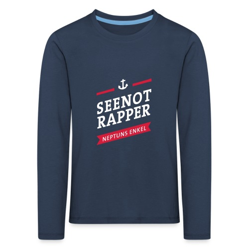 Langarm-Shirt Seenotrapper, Kids - Kinder Premium Langarmshirt