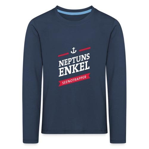 Langarm-Shirt Neptuns Enkel, Kids - Kinder Premium Langarmshirt