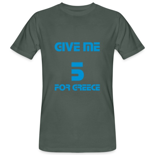 TS HOMME GM5 FOR GREECE - T-shirt bio Homme