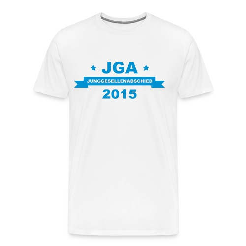 JGA 2015 (md) - Männer Premium T-Shirt