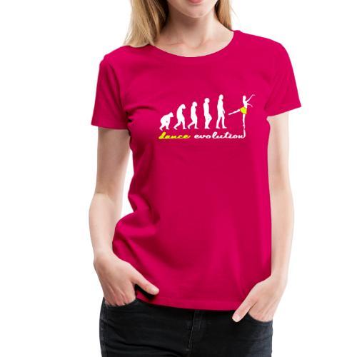 Evolution Dance T-Shirts Pink - Frauen Premium T-Shirt