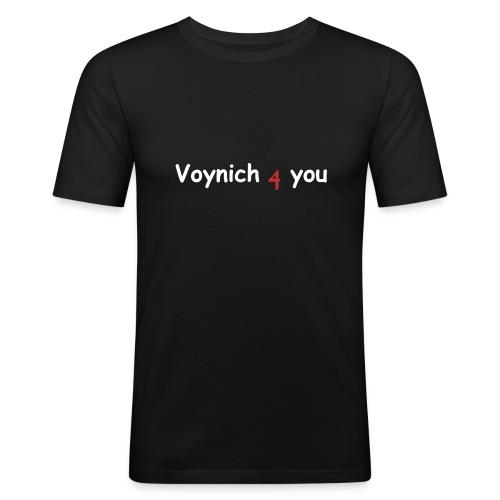 Voynich4you - Männer Slim Fit T-Shirt