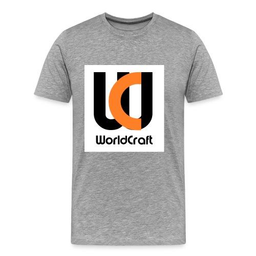 T-Shirt Herr WC Logga - Premium-T-shirt herr